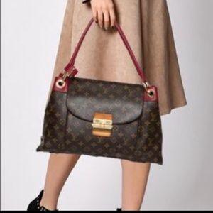 🤎💖 Louis Vuitton Olympe Aurore Monogram Canvas Bag Tote